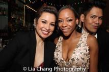 Lea Salonga, Nikki M. James and Clint Ramos. Photo by Lia Chang