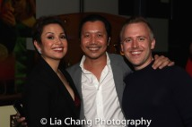 Lea Salonga, Victor Lirio and Taylor Curtis. Photo by Lia Chang