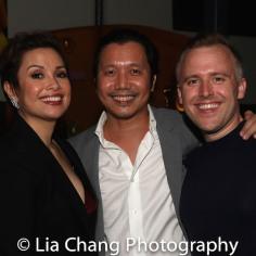 Lea Salonga, Victor Lirio and Taylor Curtis. Photo by Lia Chang