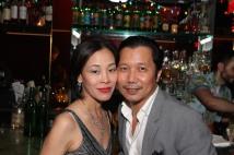 Lia Chang and Victor Lirio. Photo by Garth Kravits