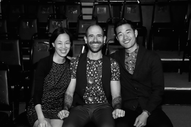 Lia Chang, Carlos Armesto, Daniel K. Isaac. Photo by Deborah S. Craig