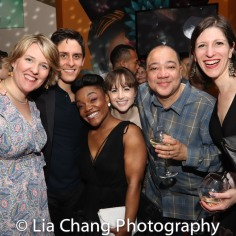 Mary Kathryn Flynt, Justin Scribner, Kenita Miller, Sarah Harris, Ken McGee and Anne McPherson. Photo by Lia Chang