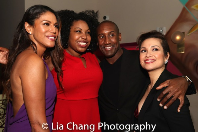 Merle Dandridge, Aurelia Williams-Philpotts, Quentin Earl Darrington, Lea Salonga. Photo by Lia Chang
