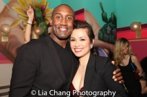 Quentin Earl Darrington and Lea Salonga. Photo by Lia Chang