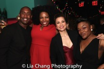 Quentin Earl Darrington, Aurelia Williams, Lea Salonga, Kenita R. Miller. Photo by Lia Chang