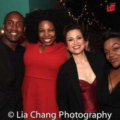 Quentin Earl Darrington, Aurelia Williams, Lea Salonga, Kenita R. Miller. Photo by Lia Chang