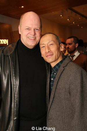 Randy Adams and Francis Jue. Photo by Lia Chang