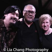 Rangga Bhuana, N. Riantiarno, Rachel Cooper. Photo by Lia Chang