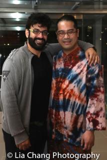 Sevan Greene and Ed Sylvanus Iskandar. Photo by Lia Chang