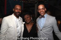 T. Oliver Reid, Kenita R. Miller and Tyler Hardwick. Photo by Lia Chang