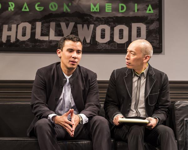 Conrad Ricamora and Francis Jue. Photo Credit: Craig Schwartz