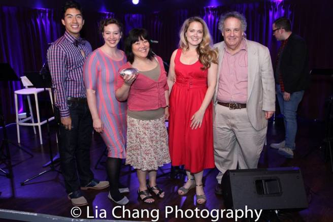 Devin Ilaw, Deb Radloff, Ann Harada, Rachel Hardin and Daniel Marcus. Photo by Lia Chang