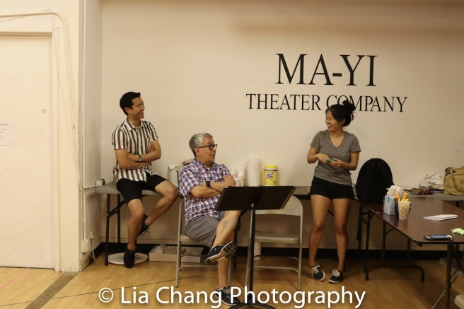 Daniel K. Isaac, Ralph Peña and Shannon Tyo. Photo by Lia Chang