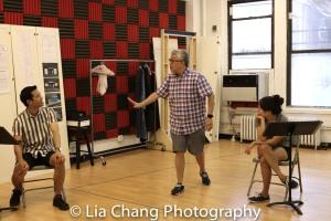 Daniel K. Isaac, Ralph Peña and Shannon Tyo. Photo by Lia Chang