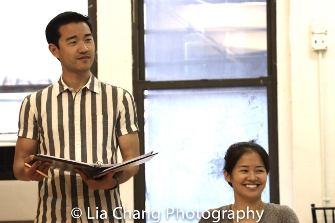 Daniel K. Isaac and Shannon Tyo. Photo by Lia Chang