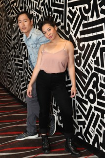 Daniel May and Geena Quintos. Photo by Lia Chang