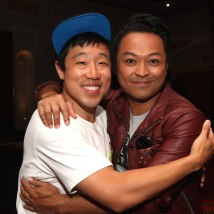 Raymond J. Lee and Billy Bustamante. Photo by Lia Chang