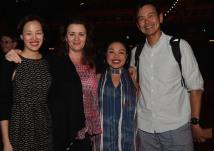 Lia Chang, Lisa Rothe, Maria Christina-Oliveras and Joel de la Fuente. Photo by Leah Baptista
