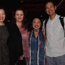 Lia Chang, Lisa Rothe, Maria Christina-Oliveras and Joel de la Fuente. Photo by Leah Baptista