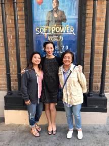 Leah Baptista, Lia Chang and Pauline Chang