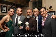 Kim Wong, David Shih, Rajesh Bose, David Huynh and Paul Juhn. Photo by Lia Chang