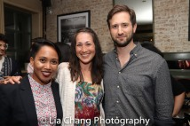 Ysabel Jasa, Kimiye Corwin and Jesse Liebman. Photo by Lia Chang