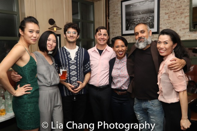 Kim Wong, Kimie Nishikawa, Reza Bejhat, Toby Algya, Ysabel Jasa, Rajesh Bose and Vanessa Kai. Photo by Lia Chang