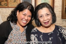 Suzette Porte and Mia Katigbak. Photo by Lia Chang