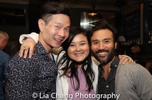 James Seol, Olivia Oguma and Marc delaCruz. Photo by Lia Chang