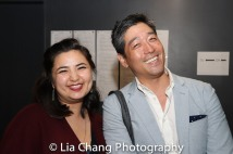 Sarah Machiko Haber and Peter Kim. Photo by Lia Chang