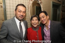 David Shih, Wai Ching Ho and Paul Juhn. Photo by Lia Chang