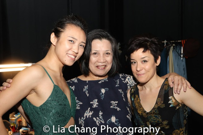 Kim Wong, Mia Katigbak and Anna Ishida. Photo by Lia Chang