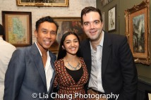 Ron Domingo, Aneesha Kudtarkar and Stephen Brown-Fried. Photo by Lia Chang