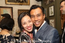 Lia Chang, Ron Domingo. Photo by Garth Kravits