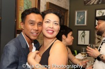Ron Domingo and Sophia Skiles. Photo by Lia Chang