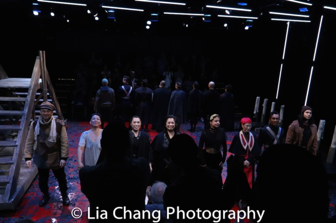 David Shih, Sophia Skiles, Vanessa Kai, Mia Katigbak, Mahira Kakkar, Wai Ching Ho, Ron Domingo and Michelangelo Hyeon. Photo by Lia Chang