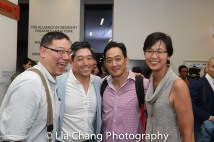 Ed Lin, Peter Kim, Paul Juhn and Cindy Cheung. Photo by Lia Chang