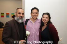 Rajesh Bose, Paul Juhn and Sarah Machiko Haber. Photo by Lia Chang