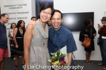 Cindy Cheung and Jon Norman Schneider. Photo by Lia Chang