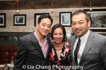 Paul Juhn, Lia Chang and David Shih. Photo by Garth Kravits