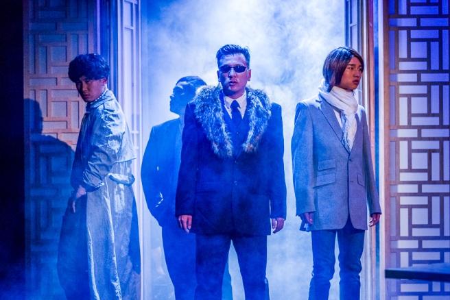Gregory Yang, Yeej Moua, Brian Kim, and Clay Man Soo as F4. Photo by Rich Ryan
