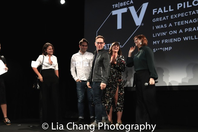 Zelda Williams, Stefan Georgiou, Garth Kravits, Pip Swallow and Pamela Bob. Photo by Lia Chang