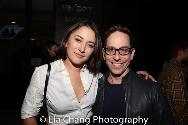 Zelda Williams and Garth Kravits. Photo by Lia Chang