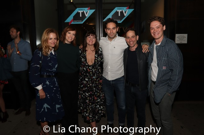 Claire Coffee, Pamela Bob, Pip Swallow, Stefan Georgiou, Garth Kravits and Evan Daves. Photo by Lia Chang