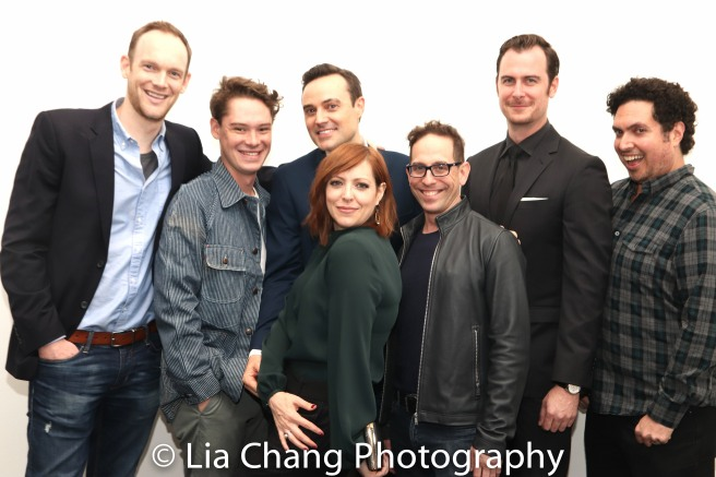 Lucas Van Engen, Evan Davies Pamela Bob, Garth Kravits, Paul Moon, Alex Altomonte. Photo by Lia Chang