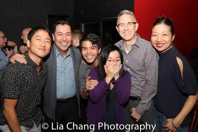 Daniel May, Alan Ariano, Telly Leung, Yuka Takara, Robert Longbottom and Lainie Sakakura. Photo by Lia Chang