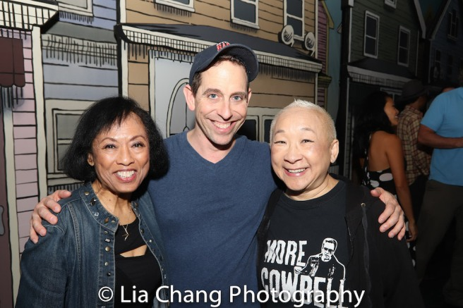 Baayork Lee, Garth Kravits, Lori Tan Chinn. Photo by Lia Chang