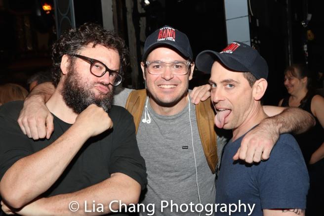 Jay Klaitz, Mitchell Jarvis and Garth Kravits. Photo by Lia Chang