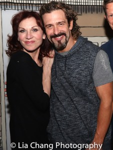 Marilu Henner and Brandon Williams. Photo by Lia Chang