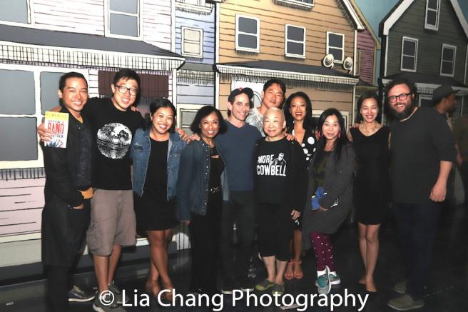 Jake Manabat, Raymond J. Lee, Baayork Lee, Garth Kravits, Lori Tan Chinn, Daniel May, J. Elaine Marcos, Yuka Takara, Lia Chang and Jay Klaitz.
